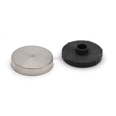 КЗС1326-12 крепление для зеркала/таблички 12 мм