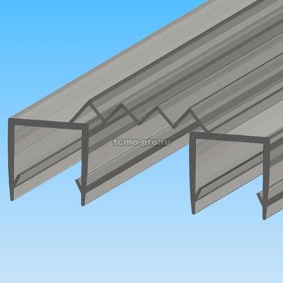ПУ111-006А профиль уплотнительный для стекла 10 мм / 2.2 м