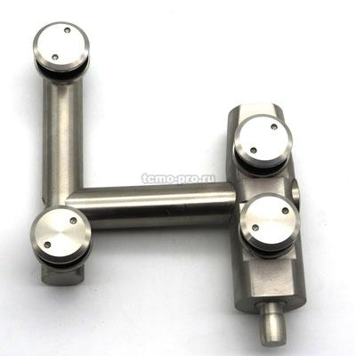 Угловой цилиндрический фитинг 301 с осью | Вектор 745