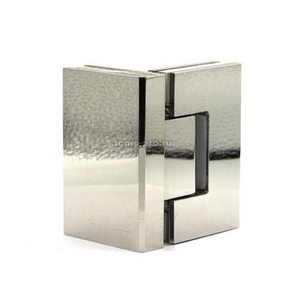 П004-201 петля стекло-стекло AISI 201 90º