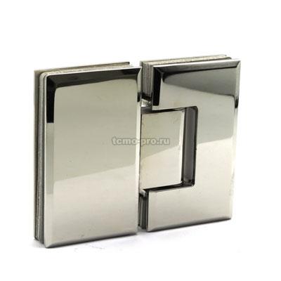 П019-304 петля стекло-стекло 180º AISI 304
