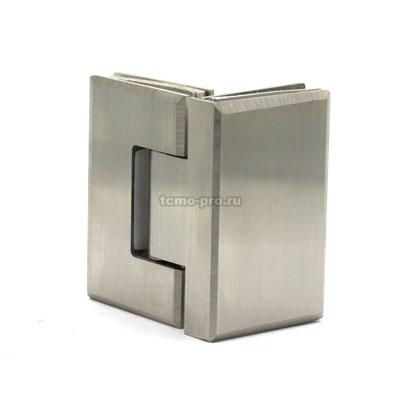 П017-304 петля стекло-стекло 90º AISI 304