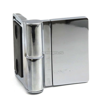 П94-1Л петля стена-стекло 90° с лифтом ЛЕВАЯ