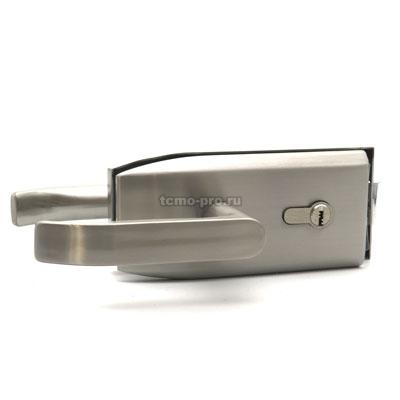 ZMD122-096-4 Замок с нажимной ручкой и притвором