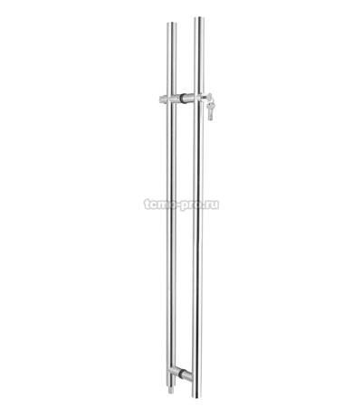 А113 Ручка с замком 35*1500 ключ-защелка