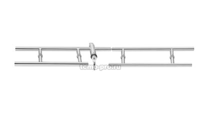 А119-1 Ответная часть на стекло для Ручки с замком 119