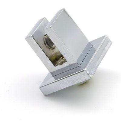 ПД16-02B-6 Полкодержатель для крепления полок к зеркалу и стеклу