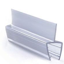 ПУ111-001 профиль уплотнительный для стекла 8 мм / 2.2 м