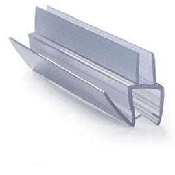 ПУ111-009В1-10 профиль уплотнительный для стекла 10 мм / 2,2 м