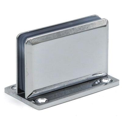 K109-305 коннектор стена-стекло 90°