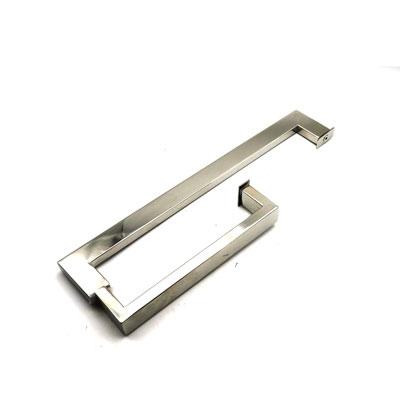 РС121-10 ручка-скоба двухсторонняя для стеклянной двери 235х420