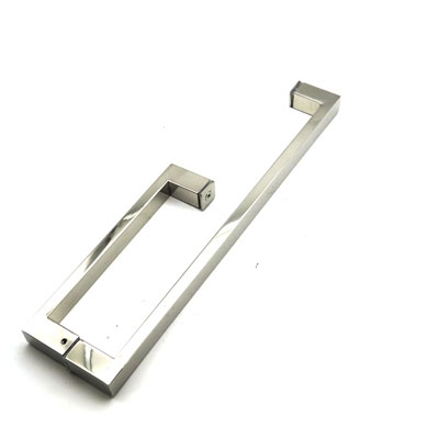РC101 ручка-скоба двухстороняя для стеклянной двери 25х13х225х425