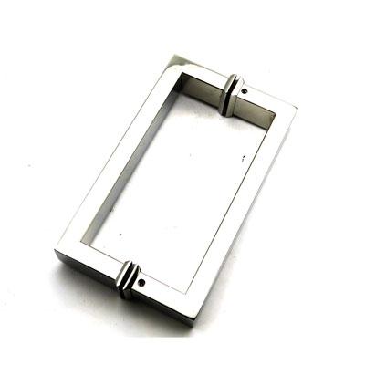 РС102 ручка-скоба двухстороняя для стеклянной двери 15х30х385