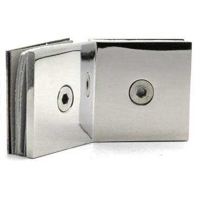 КН036-304 Коннектор 135 гр AISI 304 стекло-стекло