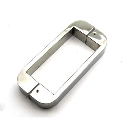 РС105 ручка-скоба двухсторонняя для стеклянной двери 10х30х270