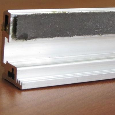 S-40 Т Профиль зажимной базы + клипсы